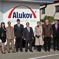 Distinguished Guest from the U.S.A. visits ALUKOV