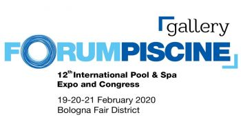 FORUMPISCINE 2020: in February the international Pool and Spa exhibition in Bologna