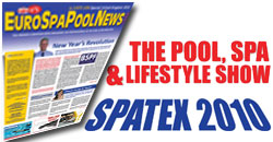 Come and meet the EuroSpaPoolNews.com team at the SPATEX SHOW - Booth U152 –  6th  to 8th February