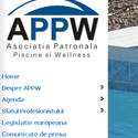 website,Professional,Association,Swimming,Wellness,Roumania,appw,pasw