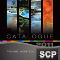 SCP presents its 2011 catalogue of pool and wellness equipment