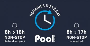 sav,hotline,horaires,ete,fabricant,equipements,appareils,piscine,electrolyseur,regulation,doseur,pool,technologie