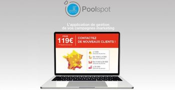 communication,ciblee,prospection,client,localisation,piscine,fabricants,distributeur,construction,piscine,application,web,poolspot,pixstart