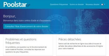 poolstar,commande,site,expedition