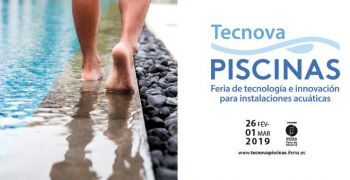 TECNOVA PISCINAS boosts its support to the pool industry