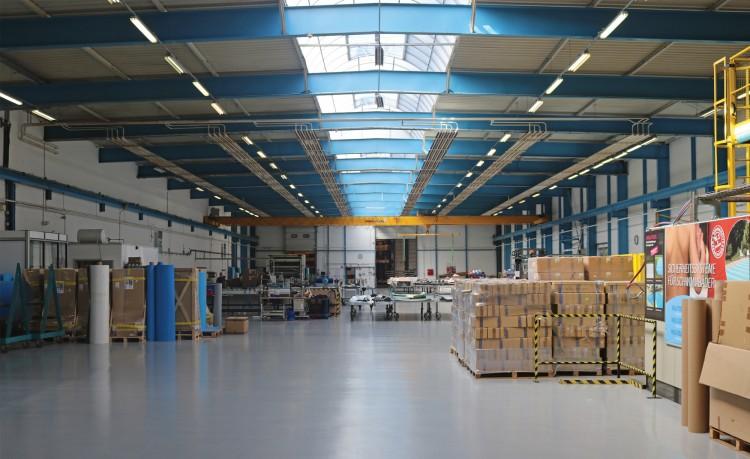 L'usine de Walter Piscine à Brumath en Alsace