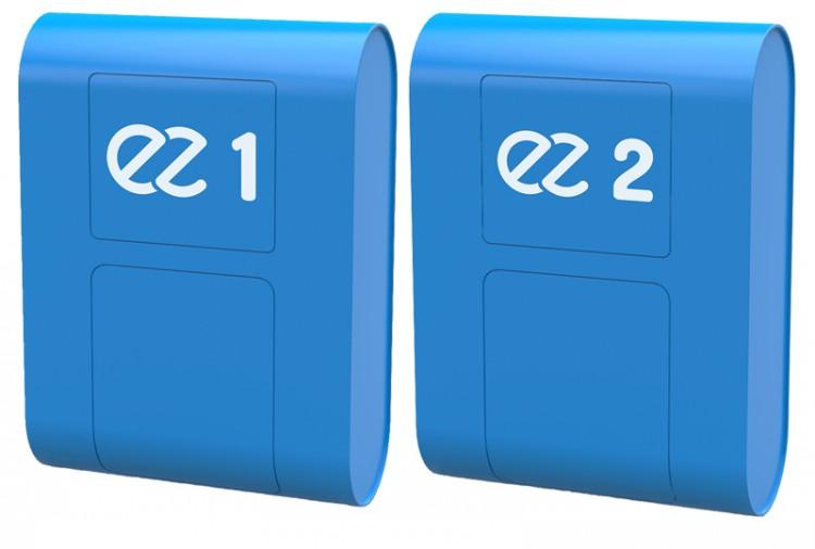 Coffrets EZ Pool.App 1 et 2 connexion local technique piscine gestion équipements