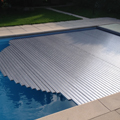 "Sleek ""Alu"" look for the pool"