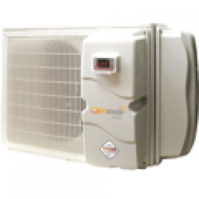 Heat pumps, cover and mini-pool