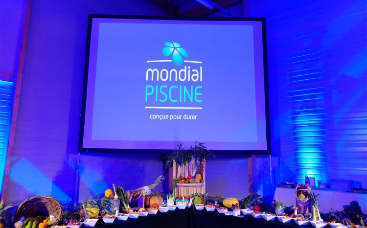 16e séminaire Mondial Piscine buffet