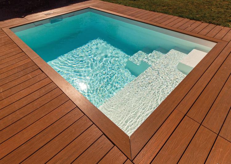 Mini-piscine coque Fidji d'Aboral Piscines