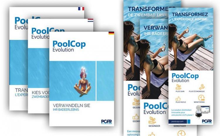Nouvelles brochures commerciales PoolCop Evolution PCFR