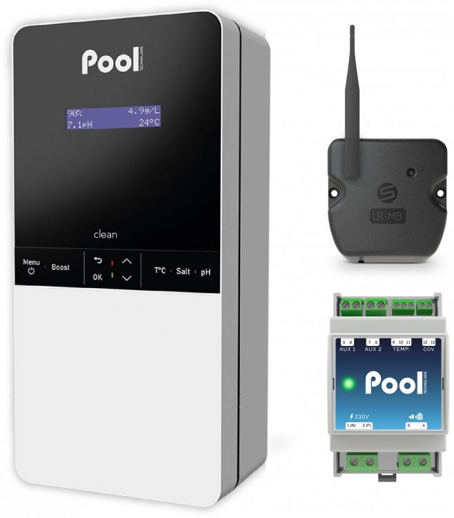 gamme Natural Pool Series électrolyseurs régulateurs eau piscine Pool Technologie