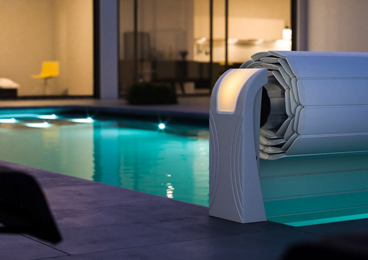 The New Connected Swimming Pool Cover Open Aero Eurospapoolnews Com