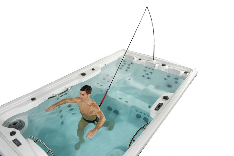 fitness spa natacion swimspa compact