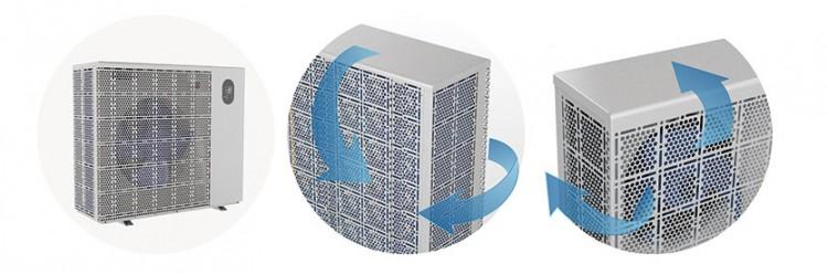 Fairland patented hexagon design of Inver-X series enables the exquisite and maximum ventilation
