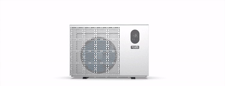 Fairland patented INVERX horizontal pool heat pump powered by TurboSilence tech