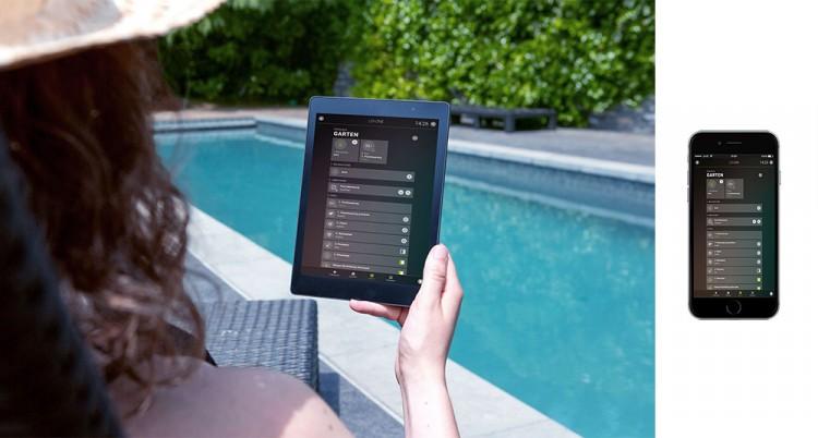 Loxone Smart Home Controle Piscine