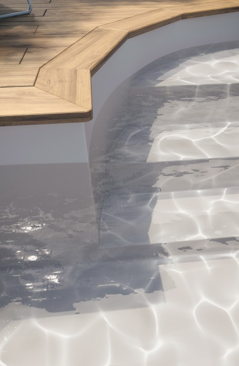 Membrane armée piscine Surface V2F gris BWT