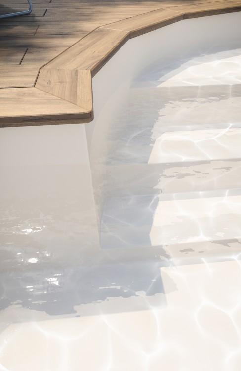 Membrane armée piscine Surface V2F sable BWT