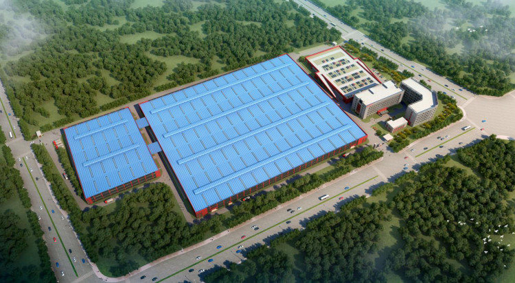 The 110,000 square meters factory of Misouri in China