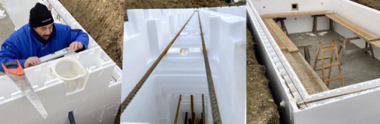 Systemziegel für die Grundkonstruktion eines Pools Ocean Brick Peraqua