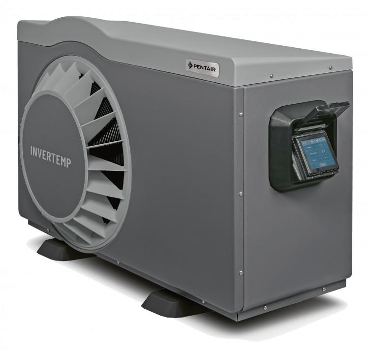 Pompe à chaleur Pentair Invertemp®-DB et son écran tactile