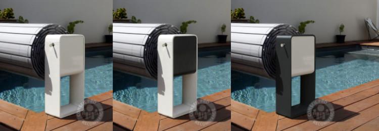 pied enrouleur couverture automatique hors-sol piscine Octéo Astralpool