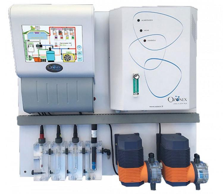 Système de régulation automatique eau piscine domotique My Ozonex + ozonateur