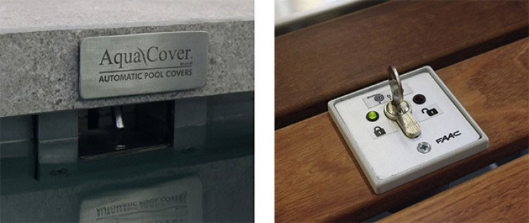 safety system lock unlock for automatic pool cover Cover Lock EVO II