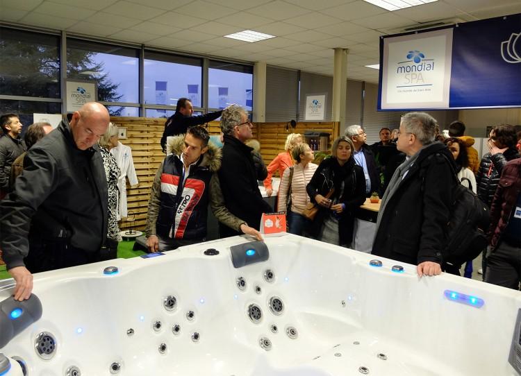 spas Mondial Spa 16e séminaire visite locaux