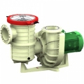 Thermoplastic Centrifugal  Pumps with Eccentric Pre-filter