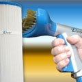 Hand-held cartridge cleaner reduces cleaning time  and boosts effectiveness