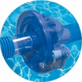 Power steering for the pool cleaner