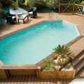 Procopi wooden pools: a guarantee of carefully selected wood
