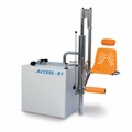 Practical, safe and multipurpose hydraulic pool lifts: ACCESS by Blautec.
