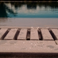 New high-quality natural stone modular overflow grate by PoolStones