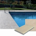 New pool paving and coping