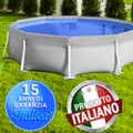 BS Village Piscine presenta la sua novità 2014 per il settore delle piscine fuori terra: la linea ITALICA.
