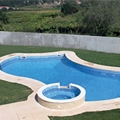 Liners and covers for swimming pools