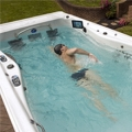 Master Spas teams up with champion Phelps for swim spa range