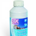 Natural Clarifier CTX: natural clarifier for a pool water naturally treated