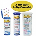 Complete range of reliable pool and spa test strips