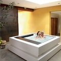 Exclusive Cube Hot Tub by Aquavia