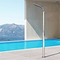 """DREAM YACHT, la doccia """"nautica"""" per piscina di Inoxstyle"""