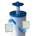 New SaniStream, Direct Line Filtration System for spas