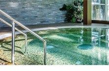 Complete design and construction of mosaic tiled spas