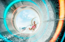 Polins introduces world's first fully transparent composites waterslide
