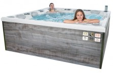 "Hot tubs and swim spas ""made in Germany"" Whirlcare"