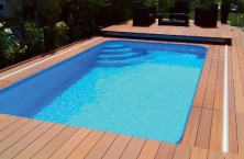 Mobile decking and automatic pool covers of Walter
